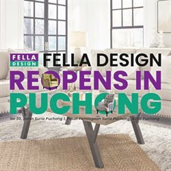 Home & Furniture offers in the Fella Design catalogue in Klang