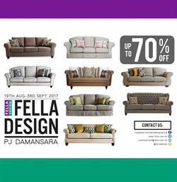 Offers from Fella Design in the Shah Alam leaflet