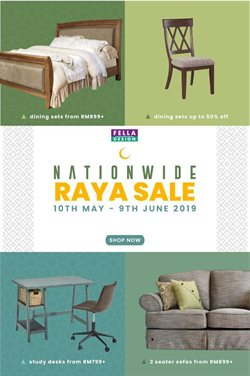 Offers from Fella Design in the Penang leaflet