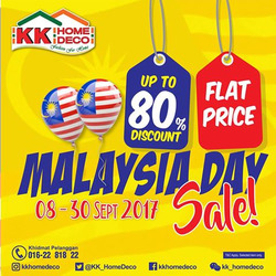 Offers from KK Home Deco in the Seremban leaflet
