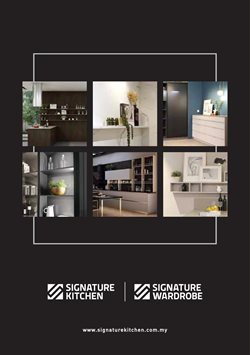 Signature Kitchen catalogue in Seremban ( More than a month )
