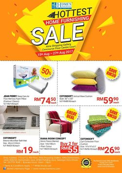 Home & Furniture offers in the Home's Harmony catalogue in Kuala Lumpur