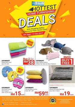Offers from Home's Harmony in the Kuala Lumpur leaflet