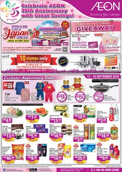 Department Stores offers in the AEON catalogue in Ipoh
