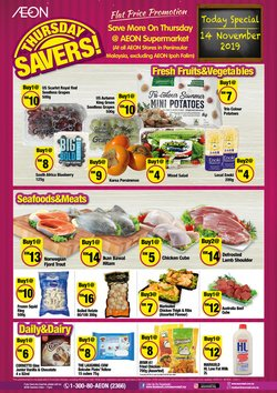 Department Stores offers in the AEON catalogue in Penang