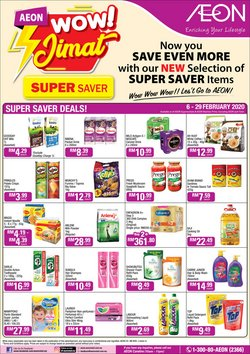 Department Stores offers in the AEON catalogue in Kajang-Bangi ( 3 days left )