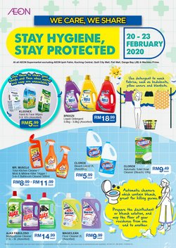 Department Stores offers in the AEON catalogue ( Expires tomorrow )