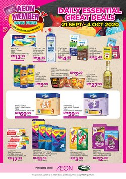 Department Stores offers in the AEON catalogue in Seremban ( 9 days left )