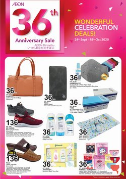 Department Stores offers in the AEON catalogue in Johor Bahru ( 3 days ago )