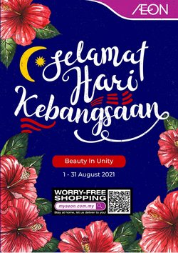 Department Stores offers in AEON catalogue ( 26 days left)