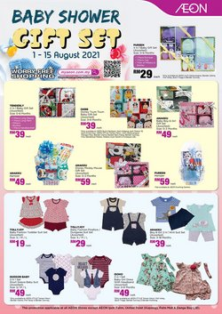 Department Stores offers in AEON catalogue ( 10 days left)
