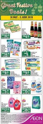 Department Stores offers in the AEON catalogue in Sunway-Subang Jaya