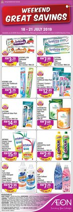 Department Stores offers in the AEON catalogue in Kajang-Bangi