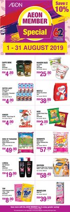 Offers from AEON in the Petaling Jaya leaflet