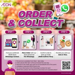 Department Stores offers in AEON catalogue ( More than a month)