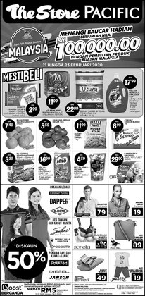 Supermarkets offers in the The Store catalogue in Johor Bahru ( Expires tomorrow )