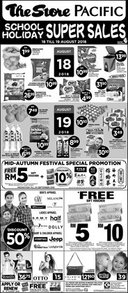 Offers from The Store in the Kuala Lumpur leaflet