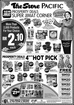 Offers from The Store in the Kajang-Bangi leaflet