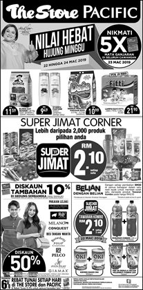 Offers from The Store in the Klang leaflet