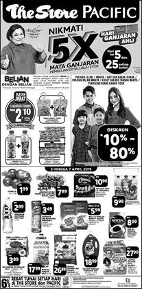 Offers from The Store in the Putrajaya leaflet