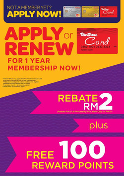 Offers from The Store in the Ipoh leaflet