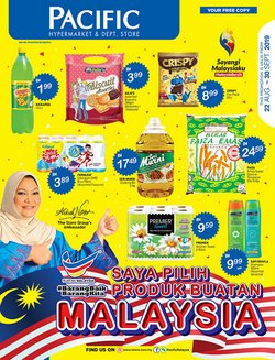 Offers from Pacific Hypermarket in the Kedah leaflet