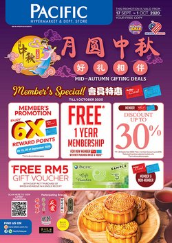 Pacific Hypermarket catalogue in Kota Bharu ( Expires tomorrow )