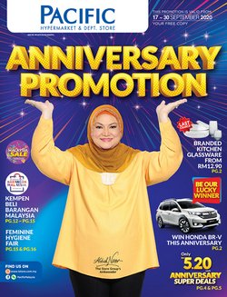 Pacific Hypermarket catalogue in Kedah ( Expires tomorrow )