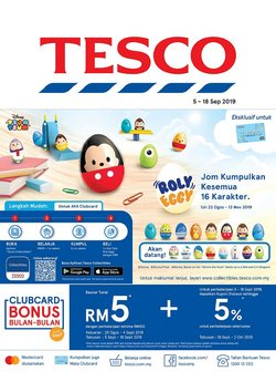 Offers from Tesco in the Petaling Jaya leaflet