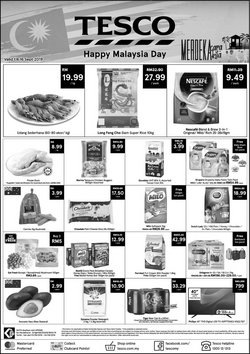 Supermarkets offers in the Tesco catalogue in Kajang-Bangi