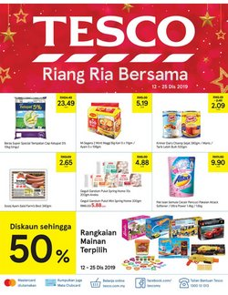 Offers from Tesco in the Seremban leaflet