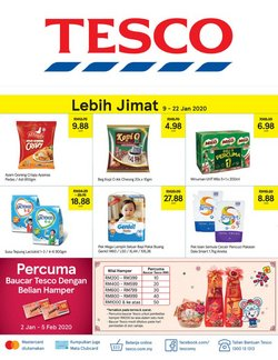 Offers from Tesco in the Penang leaflet