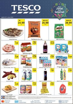 Supermarkets offers in the Tesco catalogue in Penang ( 1 day ago )