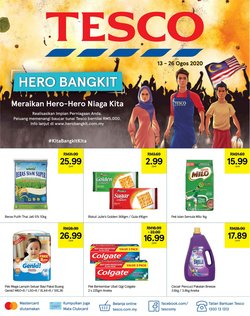 Supermarkets offers in the Tesco catalogue in Sunway-Subang Jaya ( 1 day ago )