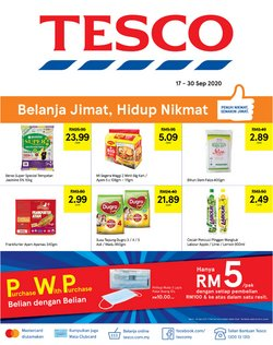 Tesco catalogue in Johor Bahru ( 4 days left )