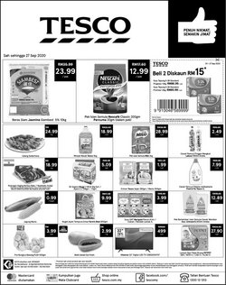 Tesco catalogue in Johor Bahru ( Expires tomorrow )
