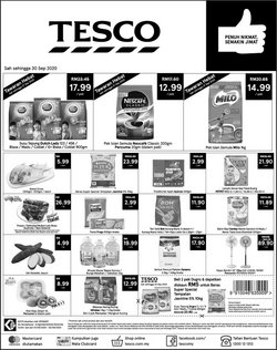 Supermarkets offers in the Tesco catalogue in Kajang-Bangi ( Expires tomorrow )