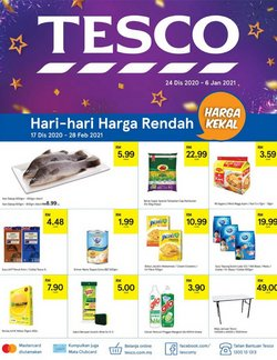 New Year offers in Tesco catalogue ( More than a month)