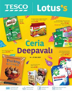 Tesco catalogue ( Published today)