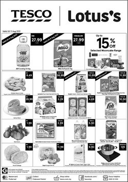 Supermarkets offers in Tesco catalogue ( Published today)