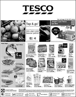 Offers from Tesco in the Johor Bahru leaflet
