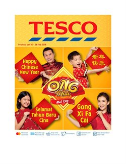 Offers from Tesco in the Kuala Lumpur leaflet