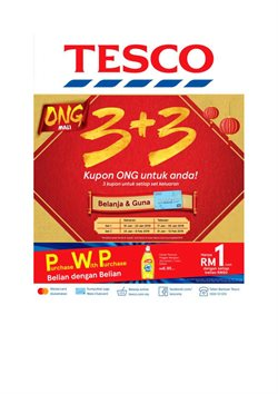 Offers from Tesco in the Kedah leaflet