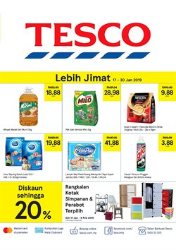 Offers from Tesco in the Melaka leaflet