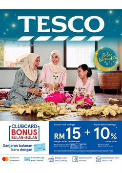 Offers from Tesco in the Shah Alam leaflet