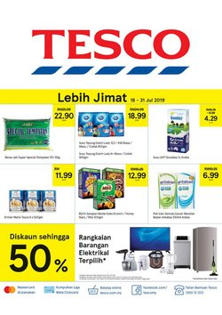 Offers from Tesco in the Ipoh leaflet