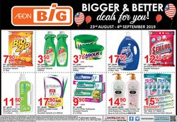 Offers from AEON Big in the Kuala Lumpur leaflet