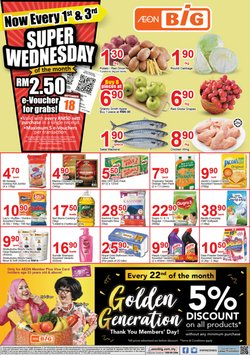Supermarkets offers in the AEON Big catalogue in Kajang-Bangi