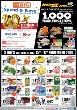 Offers from AEON Big in the Penang leaflet