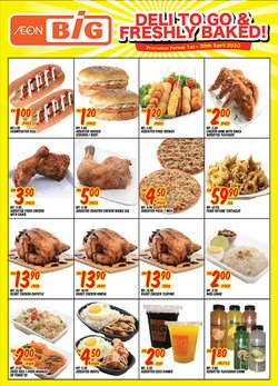 Supermarkets offers in the AEON Big catalogue in Petaling Jaya ( 23 days left )